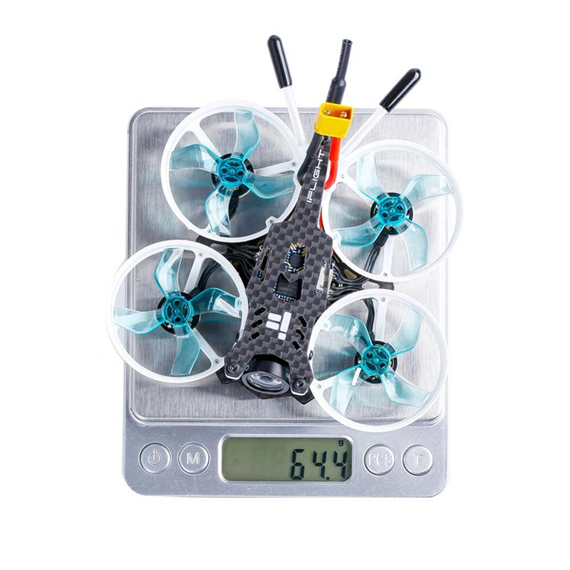 iFlight CineBee 75HD 2-3S Whoop W / SucceX mirco F4 12A 200mW Turtle v2 HD カメラ FPVレーシングドローン BNF